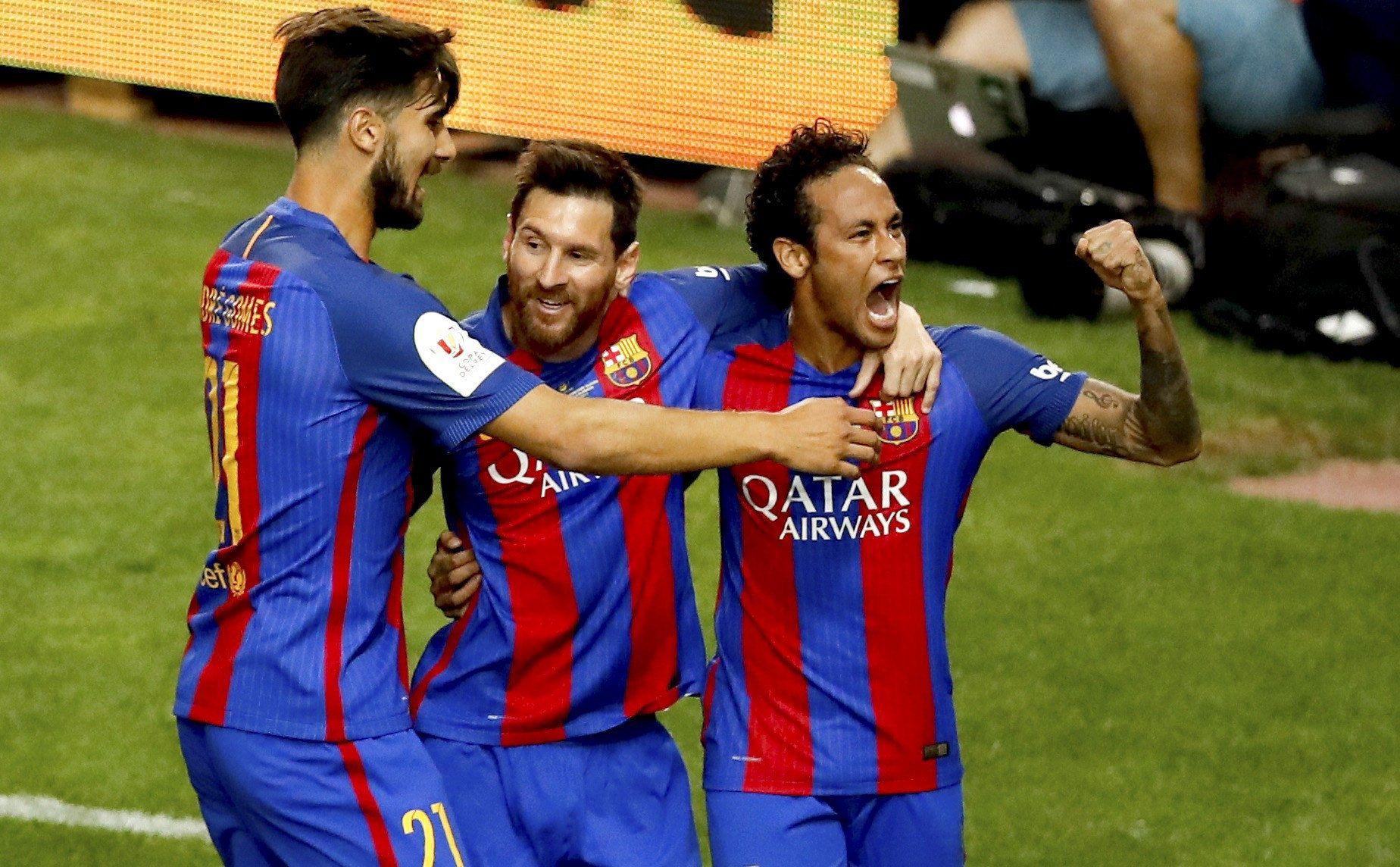 Con un gol de Messi, Barcelona superó al Alavés y se quedó con la Copa del Rey
