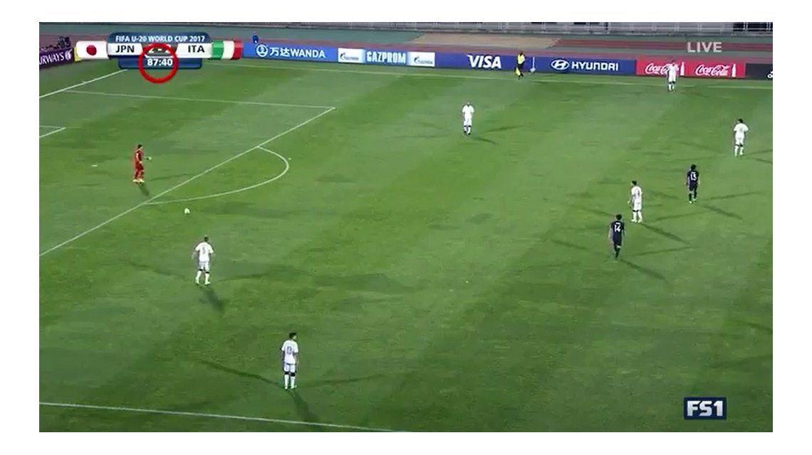 Mundial Sub 20: así arreglaron el empate Italia y Japón para clasificar