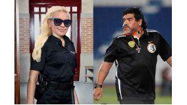 La provocación de Verónica Ojeda a Maradona