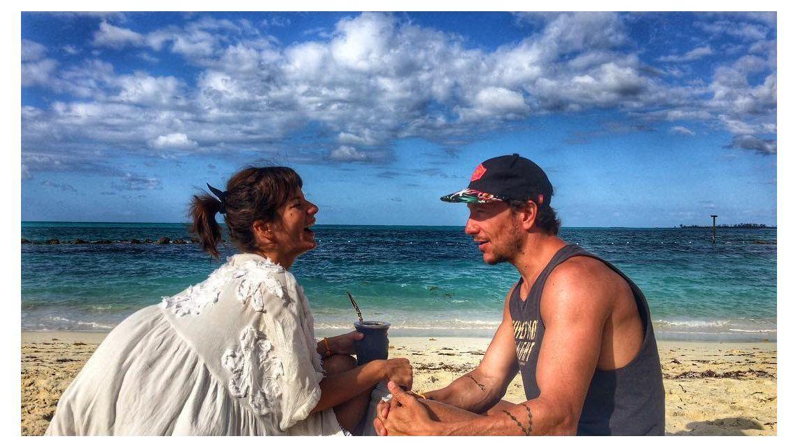 Nico Vázquez celebra el cumple de Gime Accardi con un romántico mensaje.