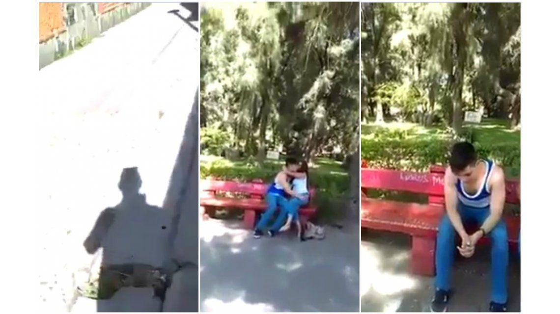 Encontró al novio de su hija con otra