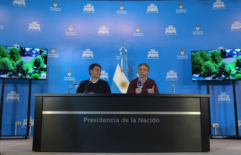 Jorge Macri y Fernando De Andreis presentaron el proyecto