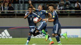 Argentina goleó a Guinea y sueña con seguir en el Mundial Sub 20
