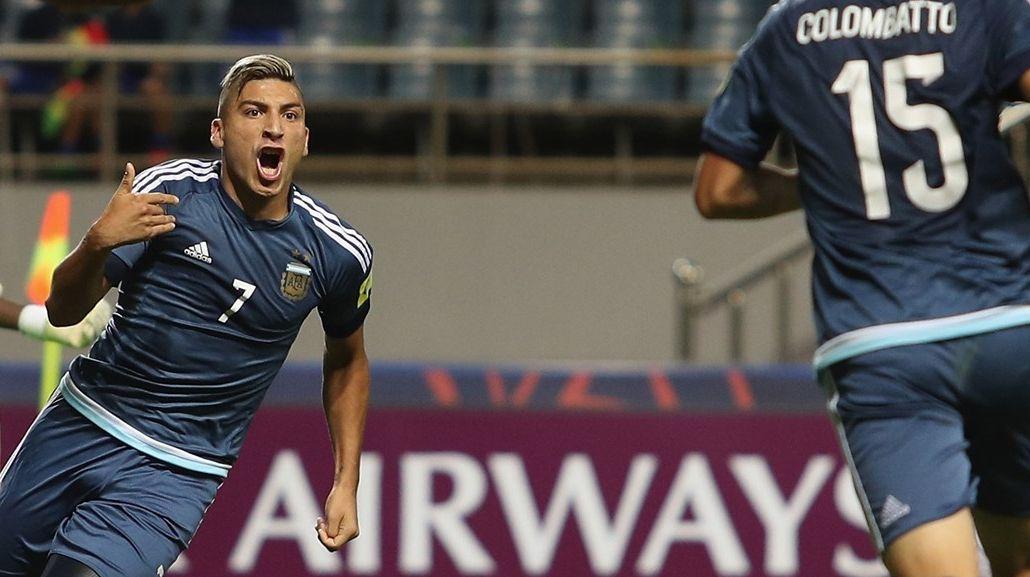 Gol de Marcelo Torres para Argentina