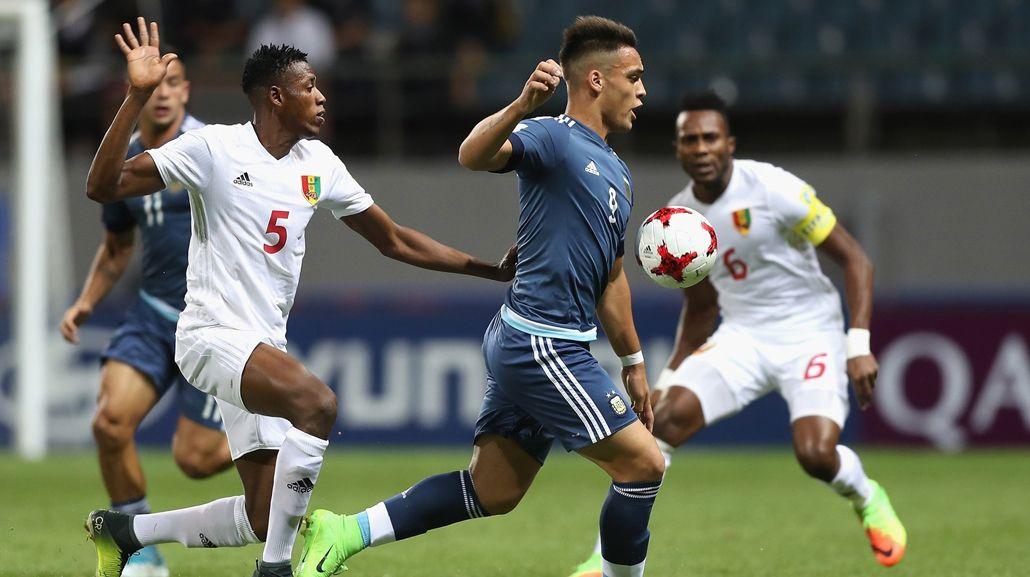 Argentina enfrenta a Guinea por el Sub 20