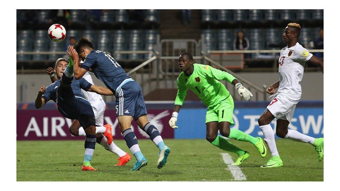 Argentina enfrenta a Guinea en el Sub 20