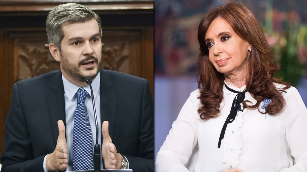 Marcos Peña cuestionó a Cristina Kirchner