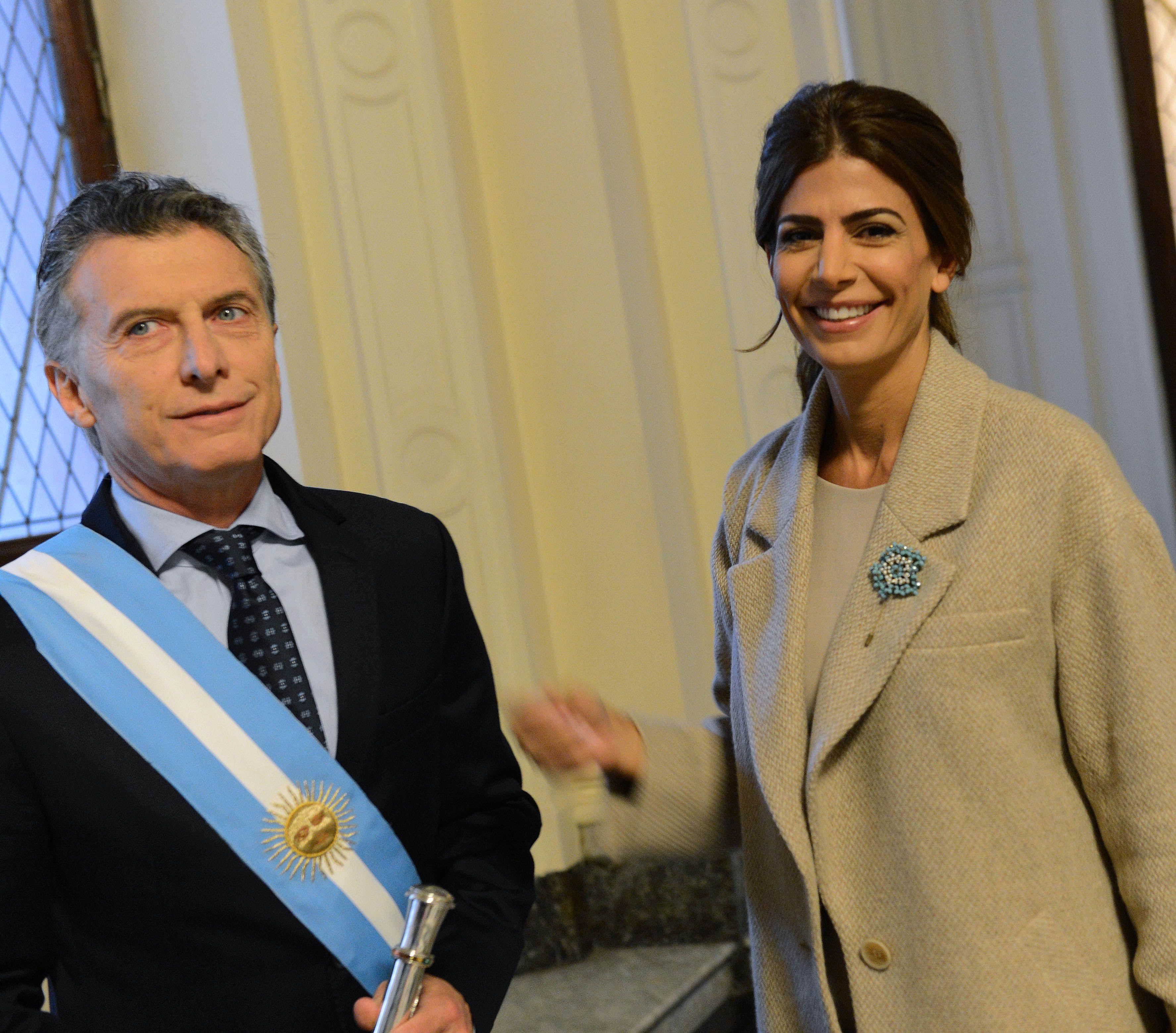 Macri y Awada en el Tedeum