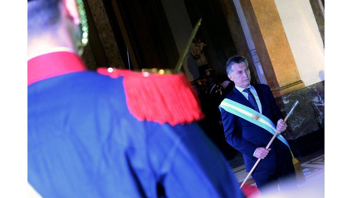 Macri en el Tedeum