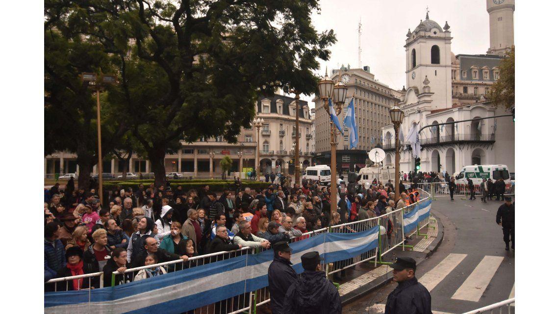 La Plaza durante el 25 de mayo