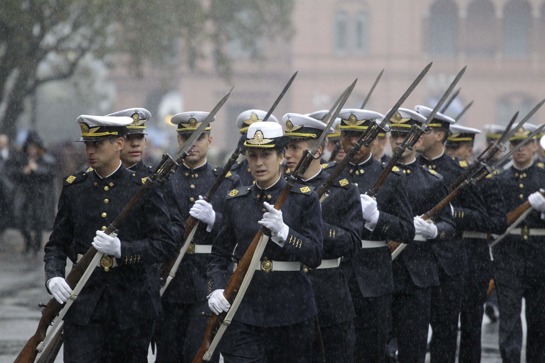 Militares en el Tedeum