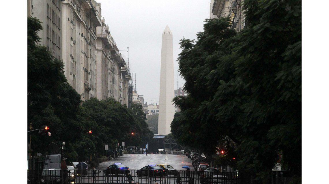 El Obelisco durante el 25 de mayo