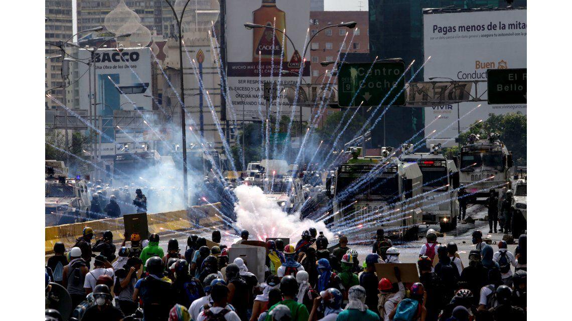 Otra jornada de protestas en Venezuela