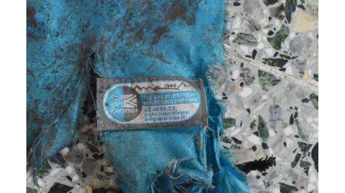 Partes de la bomba de Manchester