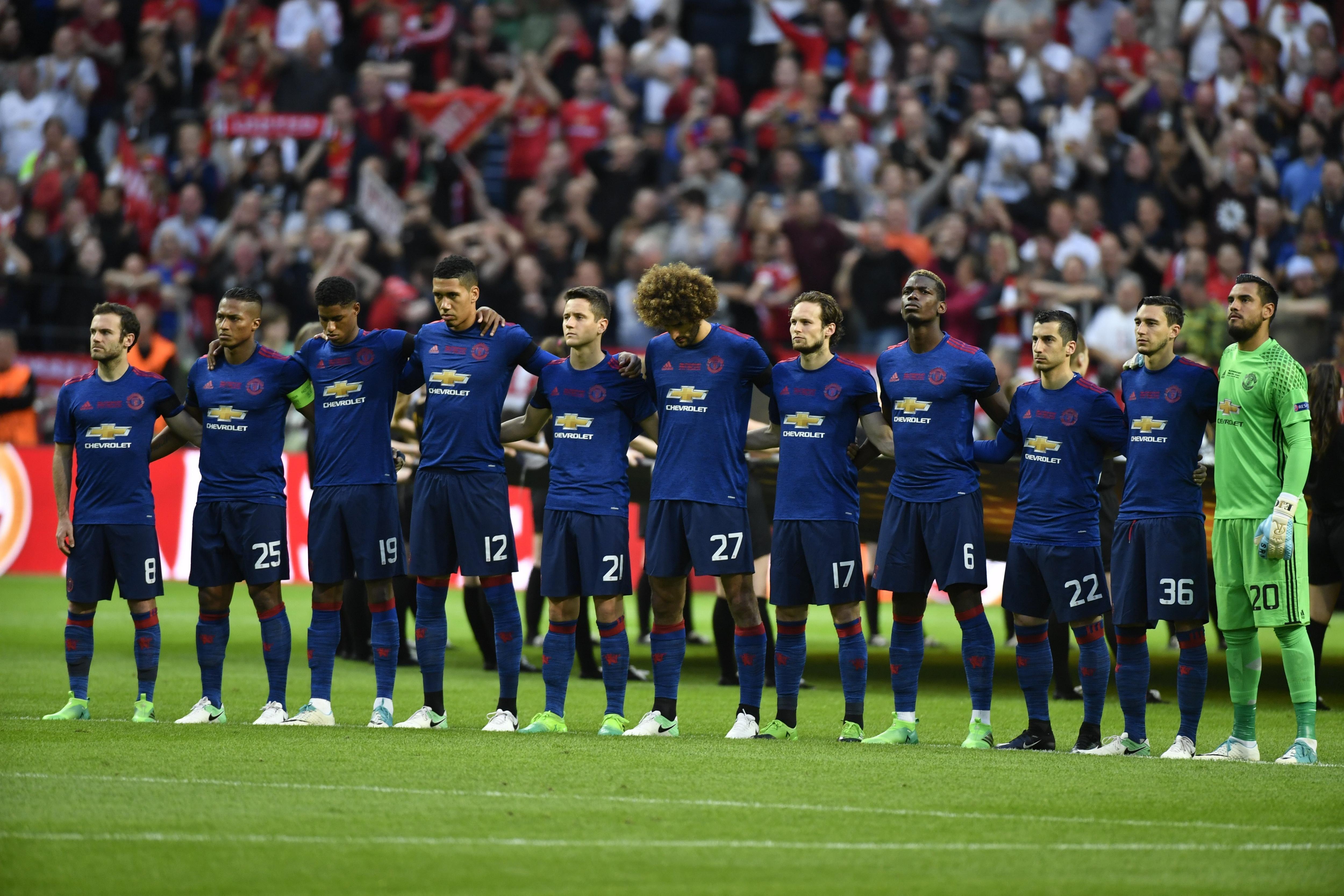 VIDEO: El minuto de silencio en la final de la Europa League por el atentado de Manchester
