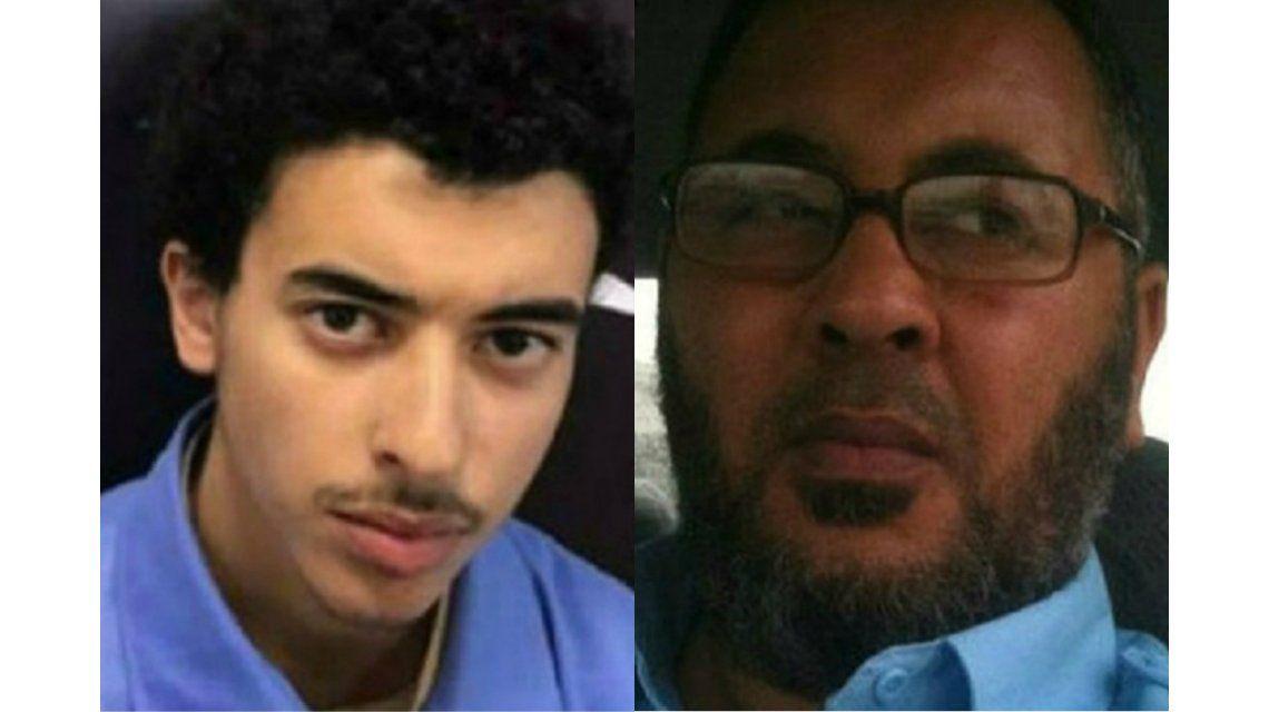 Hashem y su padreRamadan Abedi