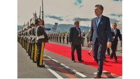 Macri participó de la asunción de Lenín Moreno