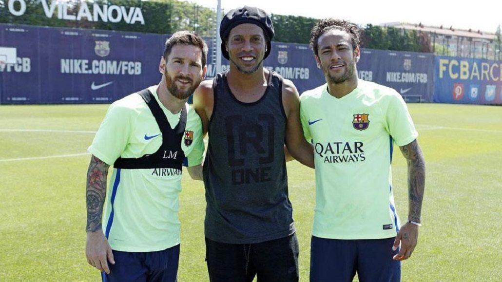El encuentro de los tres cracks mundiales