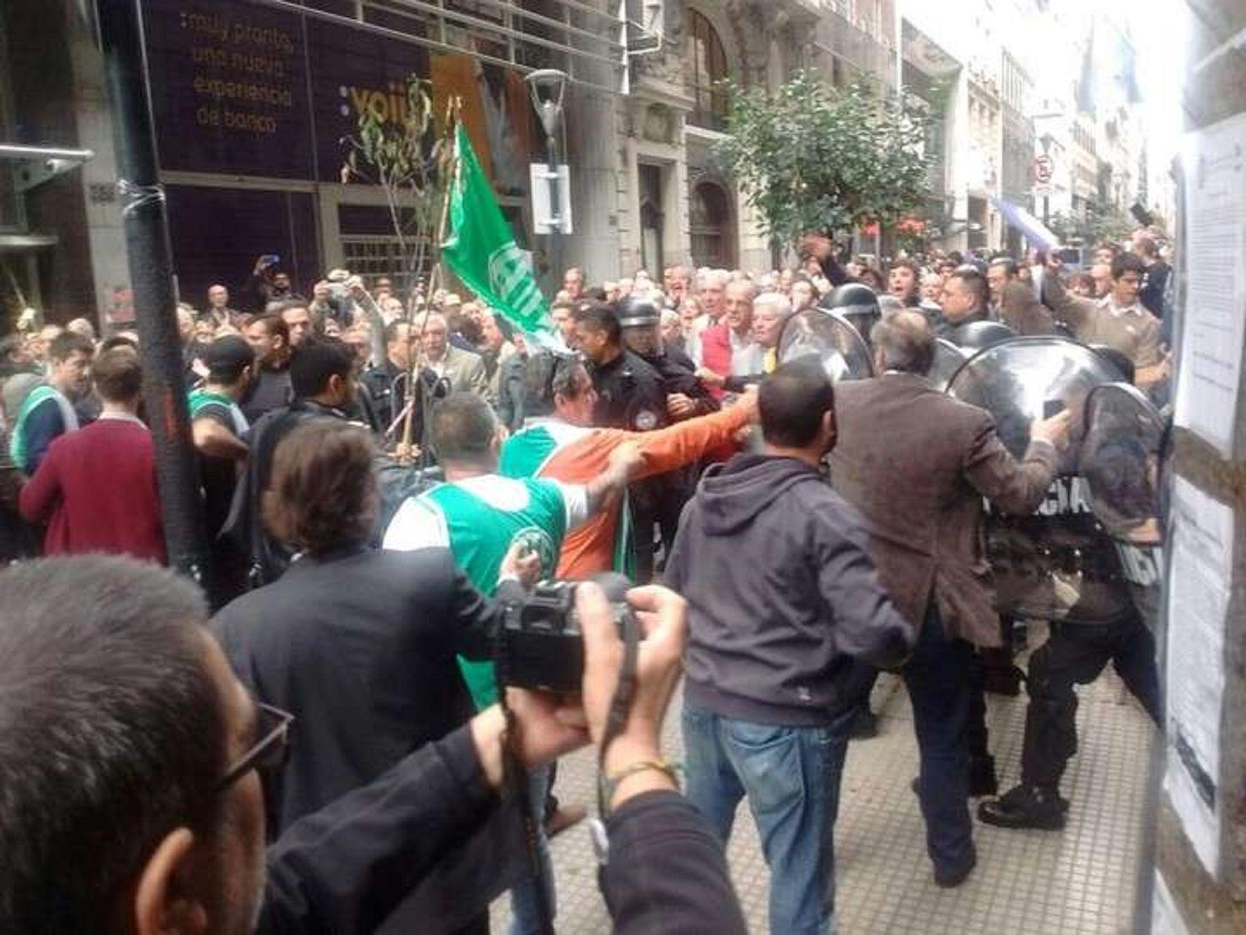 Delegados de ATE denunciaron a Cecilia Pando por agresiones