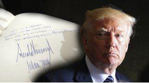 El mensaje de Trump en el museo del Holocausto de Jerusalén