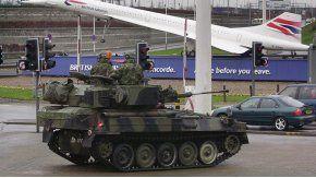 Los militares ya patrullan por el Reino Unido