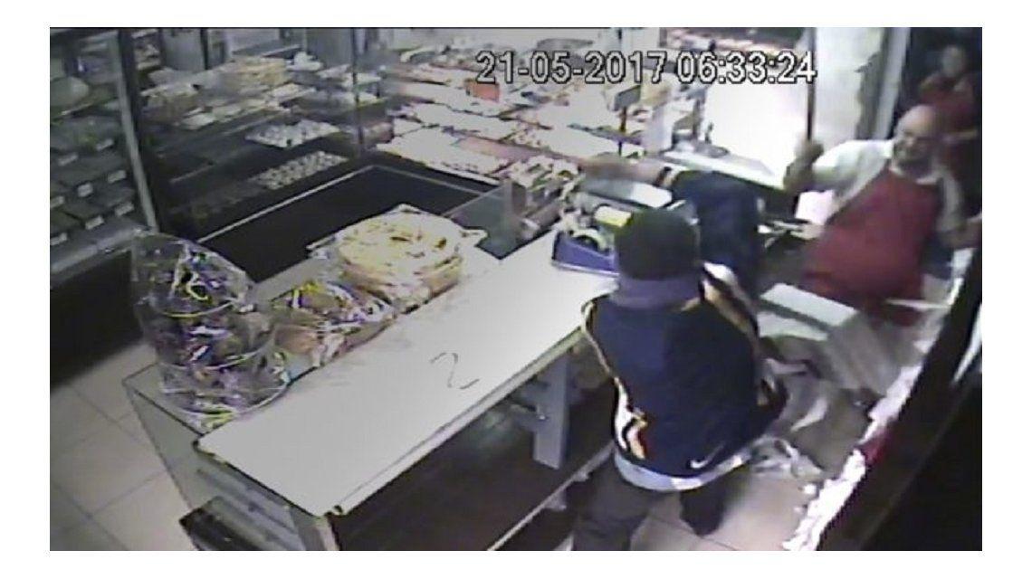 Robo a panadería de Mar del Plata