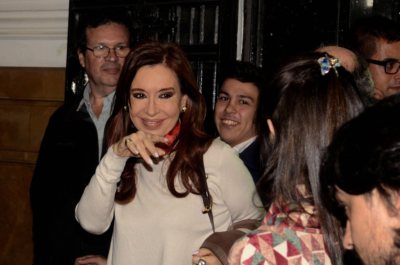 Cristina Kirchner en el Instituto Patria