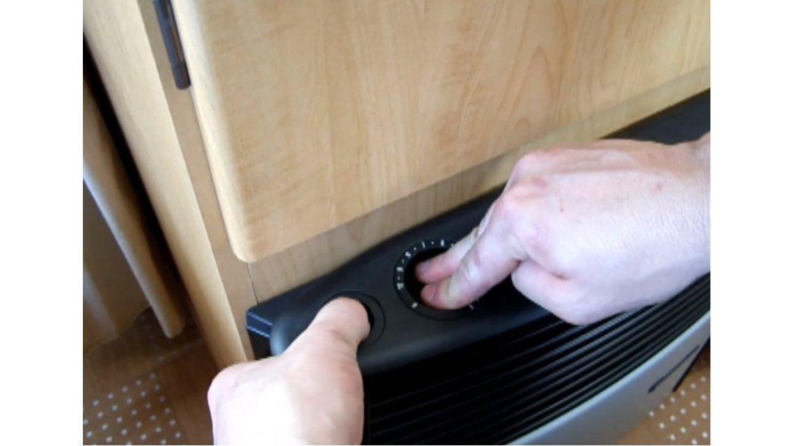 ¿Sabés cómo prender correctamente la estufa?