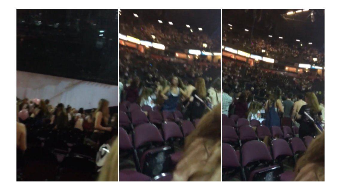 El terror adentro del Manchester Arena tras la explosión