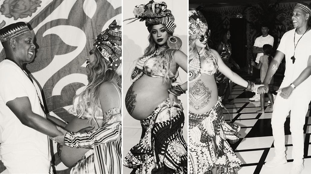 Baby shower Beyoncé