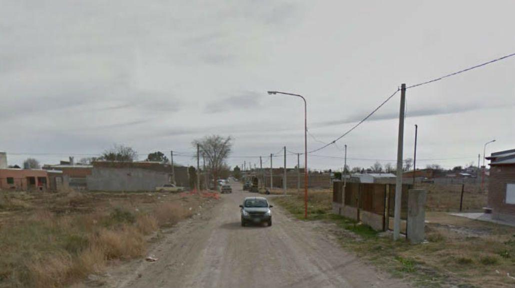 Esta es la zona donde ocurrió el femicidio