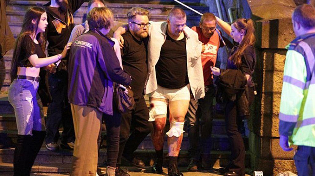 Los heridos fueron trasladados a los hospitales de la zona