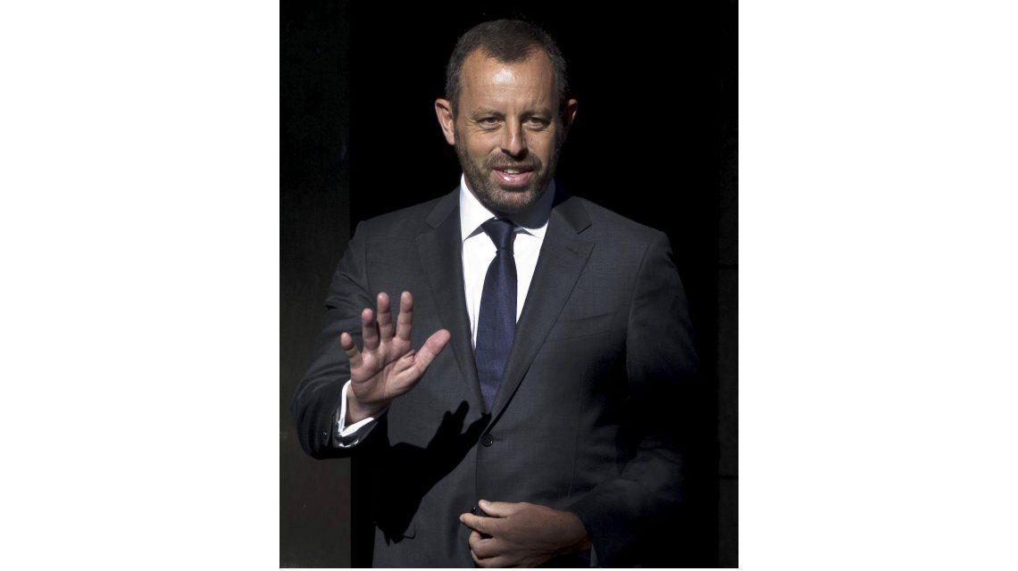 El ex presidente del Barcelona Sandro Rosell