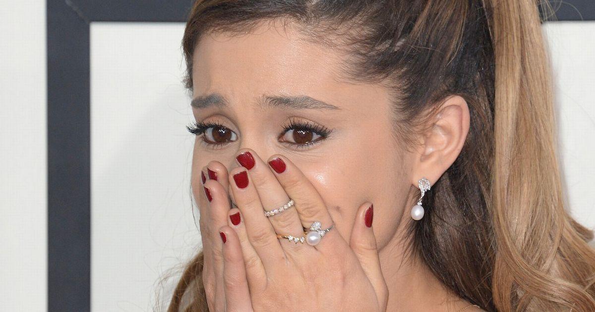 Ariana Grande habló tras el atentado en su show de Manchester.