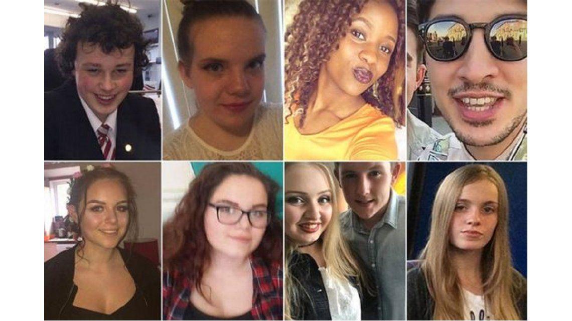Perdidos tras el atentado en el recital de Ariana Grande - Crédito: mirror.co.uk