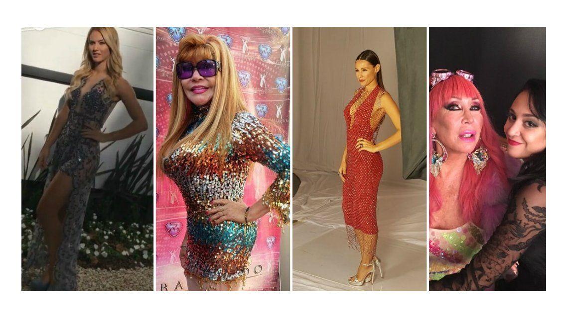 El look de los famosos en la foto del Bailando 2017.