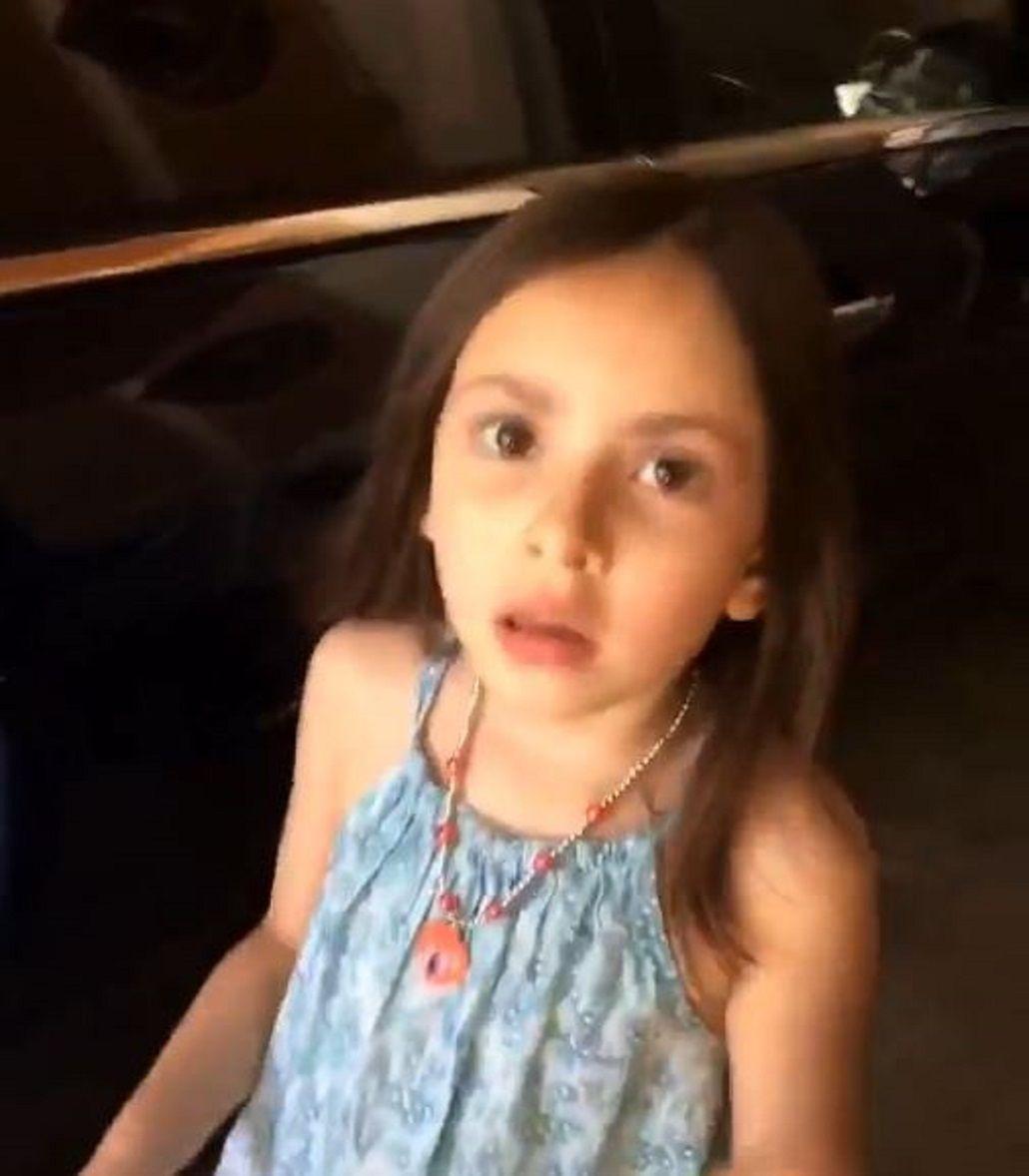 Una nena se volvió viral por la respuesta que le dio a su padre