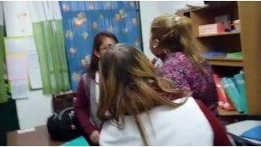 La agresión de una mamá a una maestra