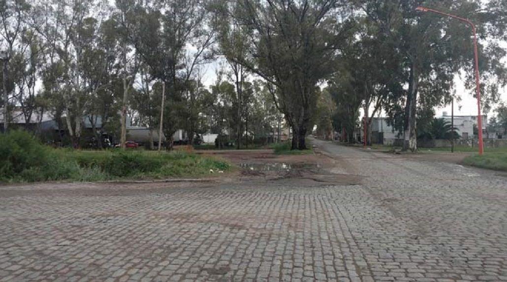 El lugar donde fue atacada la víctima