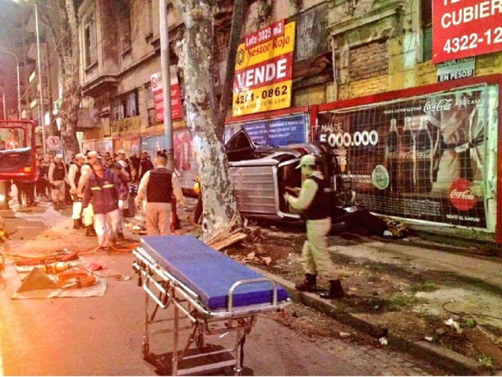 Fuerte choque en Avellaneda deja cuatro heridos