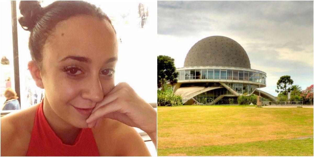 Naiara Awada convocó a sus fans en el Planetario y la dejaron plantada.