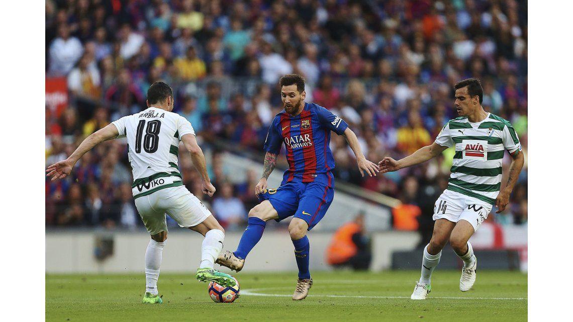 Barcelona se lo dio vuelta al Eibar pero no pudo impedir el título del Real Madrid