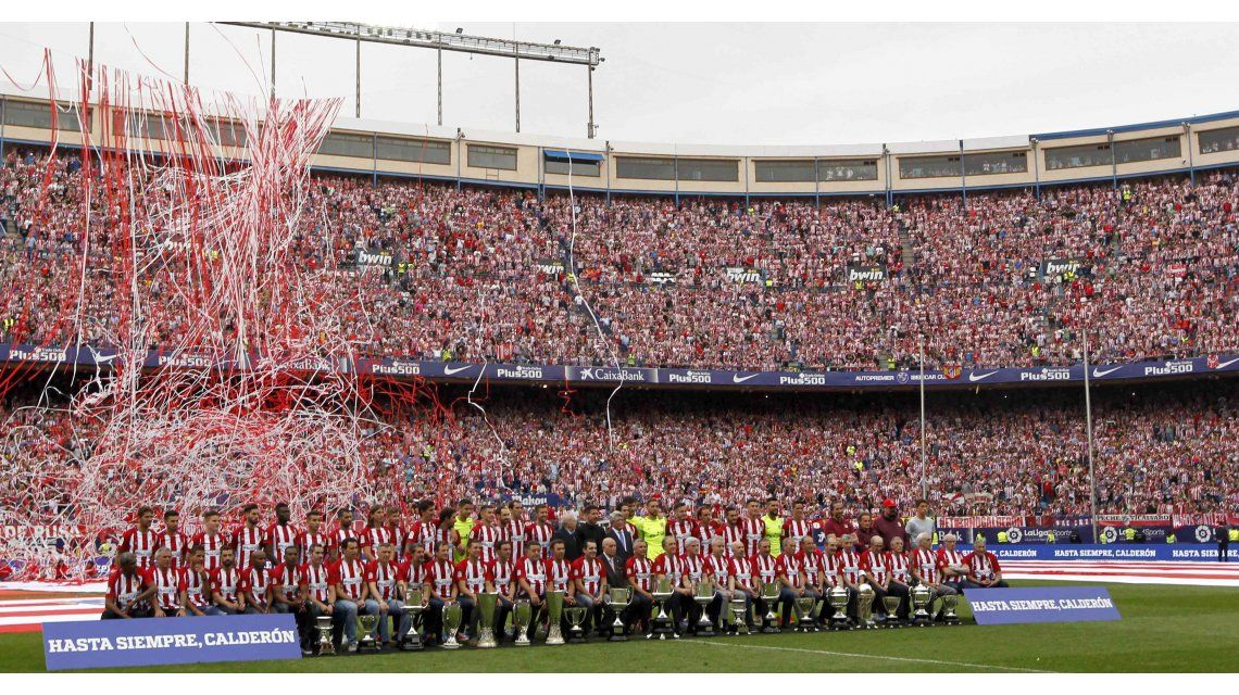 El jugador argentino que se metió en la historia del Atlético de Madrid