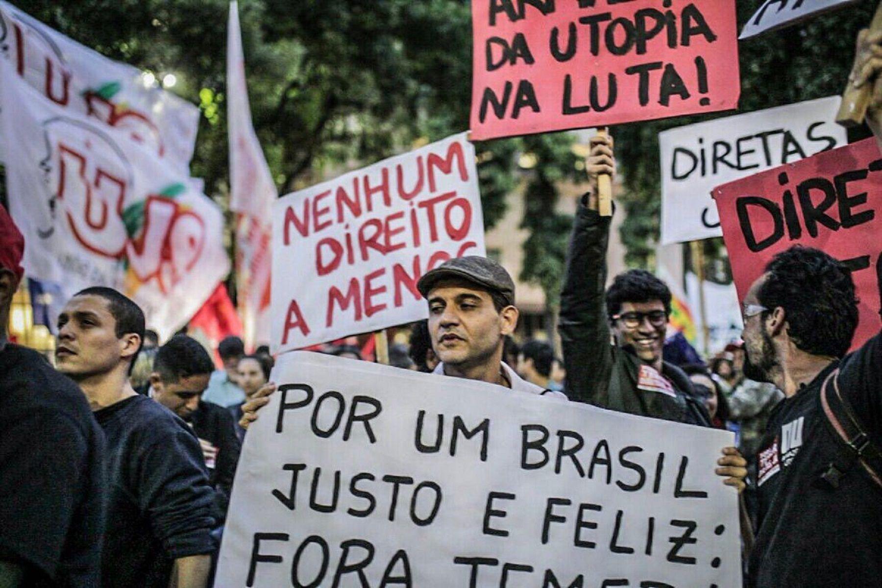 Manifestaciones en Brasil