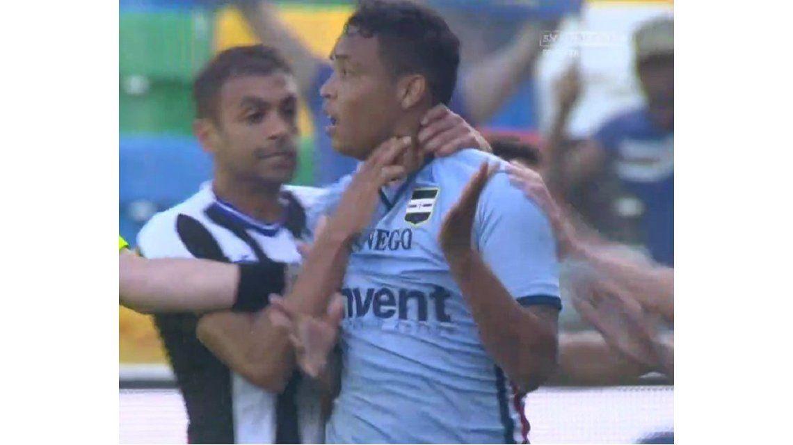VIDEO: La pelea de Muriel y Danilo en el Sampdoria contra Udinese