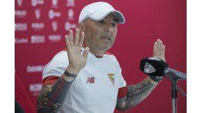 Sampaoli se despidió del Sevilla con una goleada