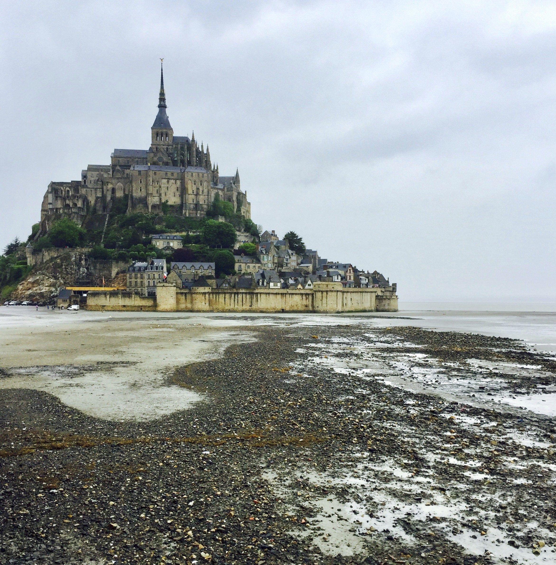 El Monte Saint Michel es una de las atracciones turísticas de Normandía