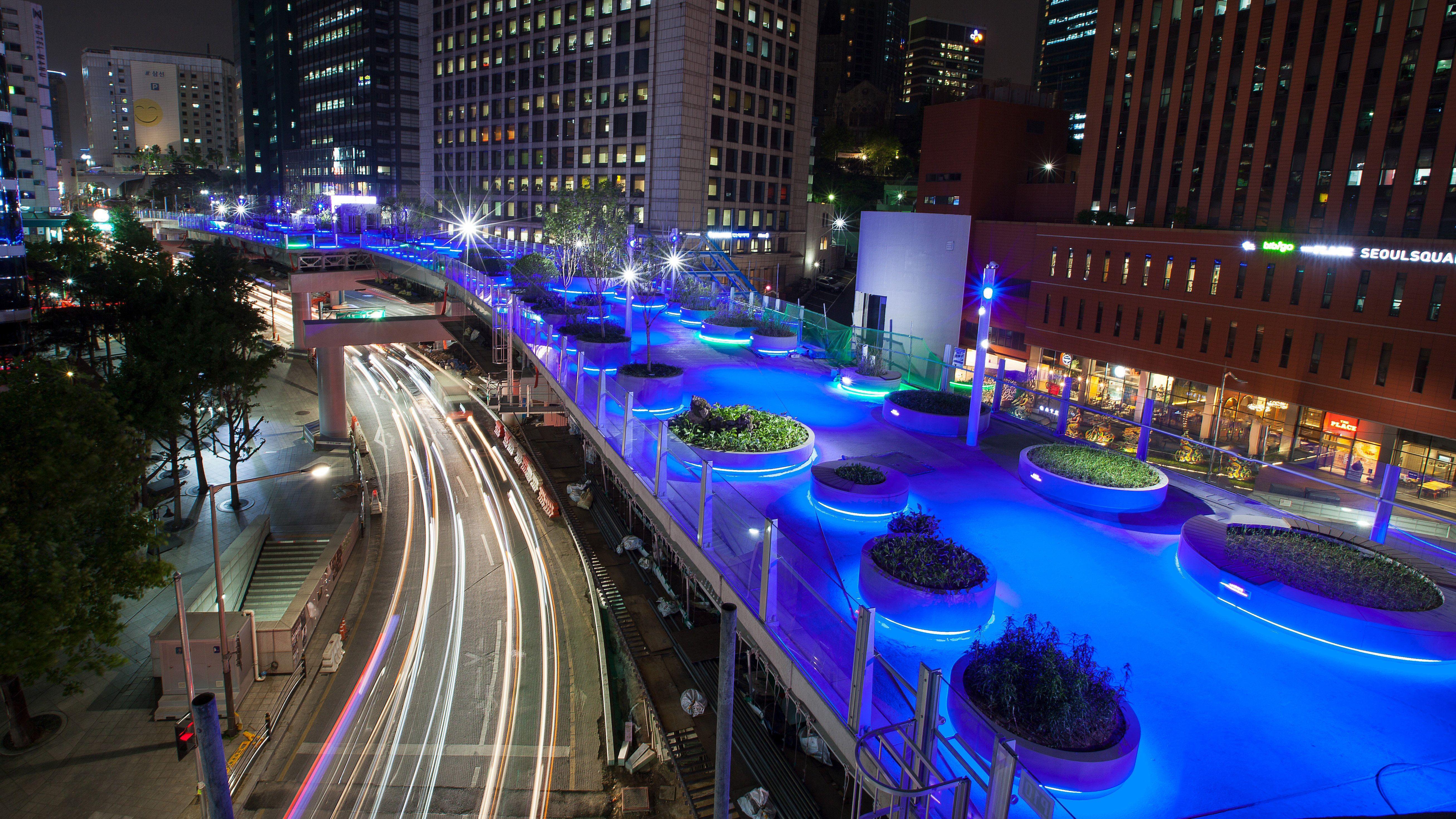 Vista nocturna de Seoullo 7017