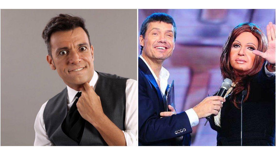 Martín Bossi imitó a Cristina Fernández en el 2009