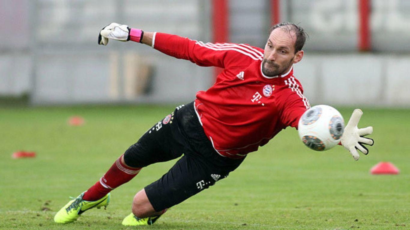 El arquero suplente del Bayern Munich se retiró con más títulos que partidos